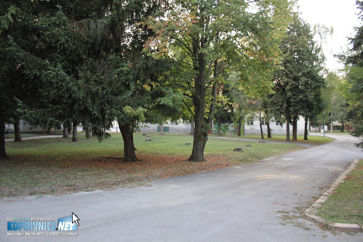 Prostor za kampiranje u Kampusu // Foto: Koprivnica.net
