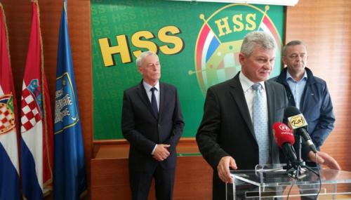 Branko Hrg, predsjednik Hrvatske seljačke stranke // Foto: HSS Križevci