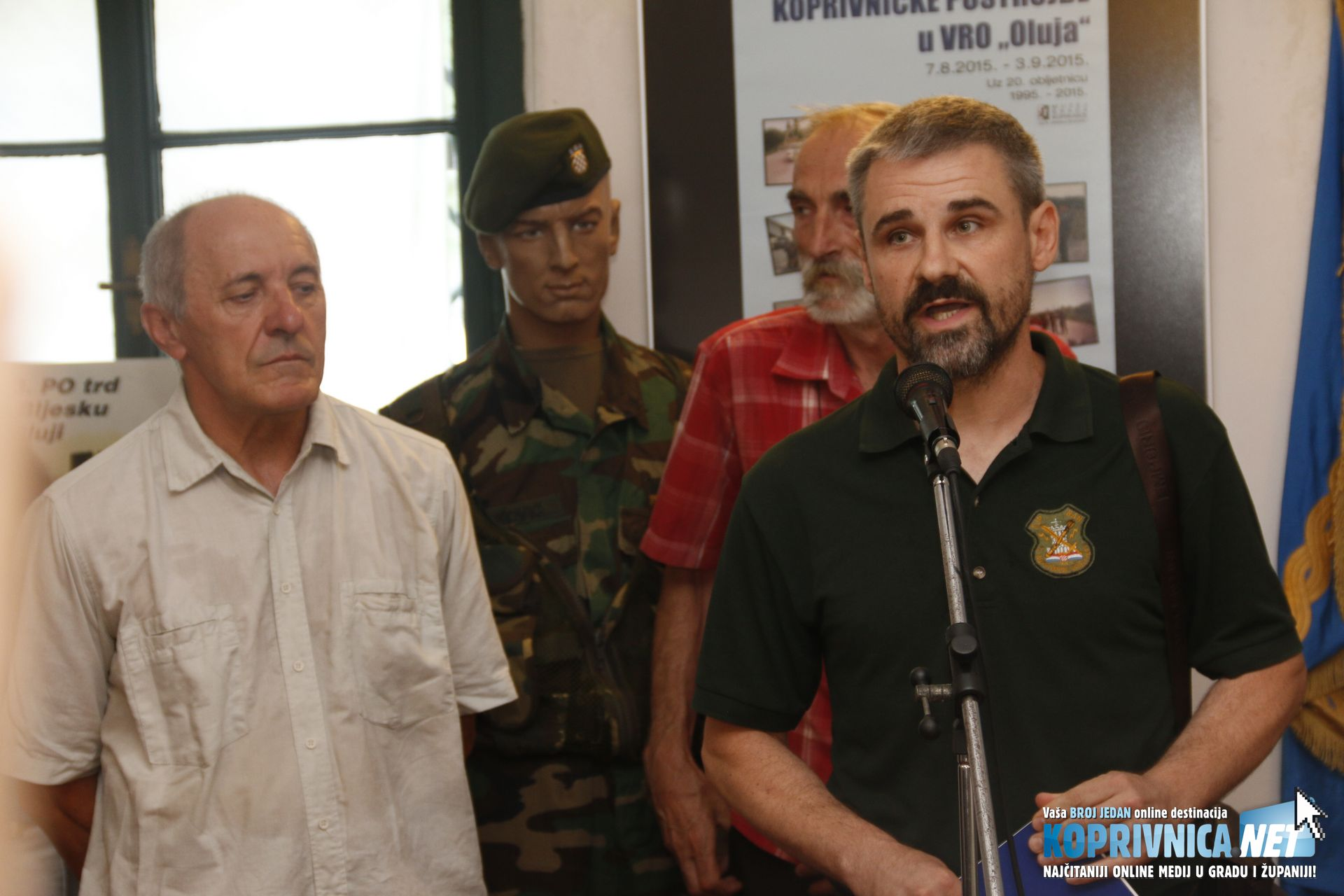 Ivica Jurenec, ratni zapovjednik Specijalne jedinice policije Ban // Foto: Mario Kos