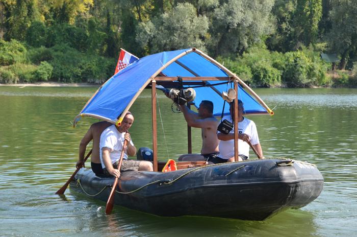 Članovi Dravskih vidri rijekom Dravom u deset dana prevalili su od 236 kilometara // Foto: Dravske vidre
