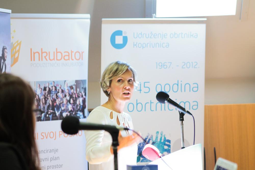 Martina Golčić, direktorica Koprivničkog poduzetnika