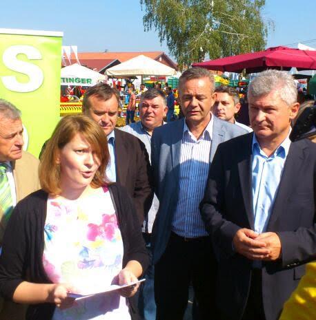 Vodeći ljudi HSS-a u Gudovcu su na temu poljoprivrede održali 'presicu' //Foto: HSS KC-KŽ županije