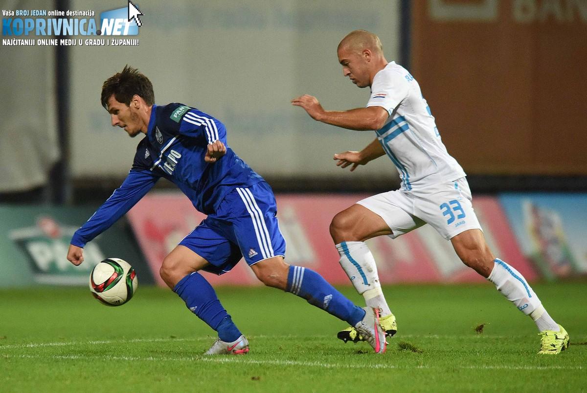Crepulja je odigrao solidnu utakmicu protiv Rijeke // Foto: Koprivnica.net