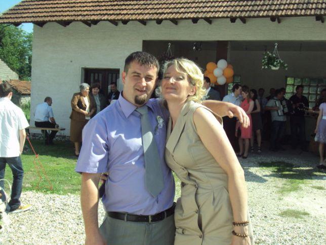 Valentina i Hrvoje Brunec u sretnim danima svoje veze // Foto: Facebook