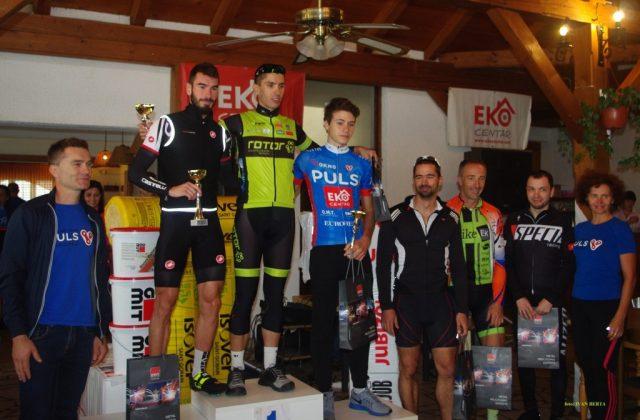 Nino Berta na proglašenju pobjednika na Železnoj gori u Međimurju // Foto: BK Rotor