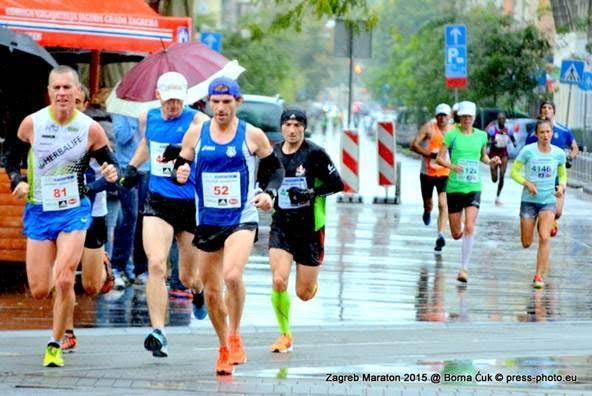 Detalj sa Zagrebačkog maratona // Foto: Zagreb maraton