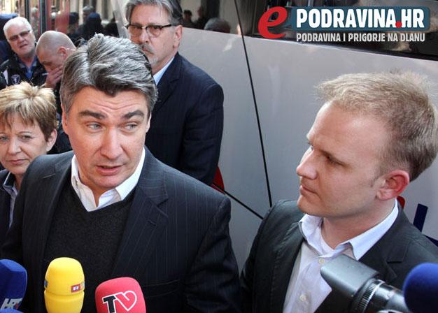 Premijer Milanović s koprivničkim dogradonačelnikom ima druge planove // Foto: arhiva ePodravina.hr