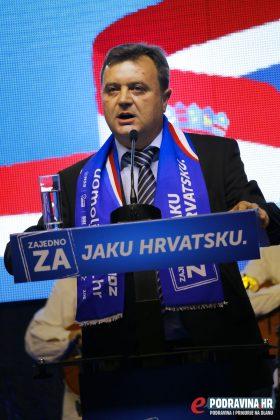 Darko Sobota (HDZ) peti je na listi II. izborne jedinice // foto: Mario Kos