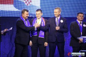 Darko Sobota (HDZ) i Darko Koren (HSS) na listi su Domoljubne koalicije // foto: Mario Kos
