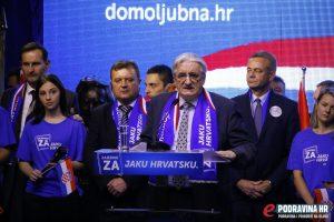 Miroslav Tuđman (HDZ) nositelj je liste Domoljubne koalicije // foto: Mario Kos