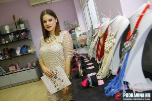 Organizatorica izbora za Miss Iva Horvat // Foto: Matija Gudlin