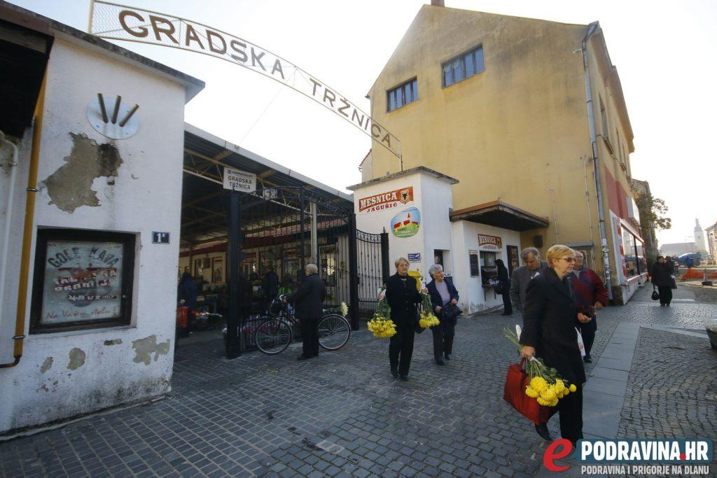 Gradska tržnica Koprivnica // Foto: Arhiva ePodravina.hr