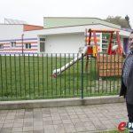 Načelnik Općine Virje Mirko Perok ispred vrtića Zrno // Foto: Marko Murković