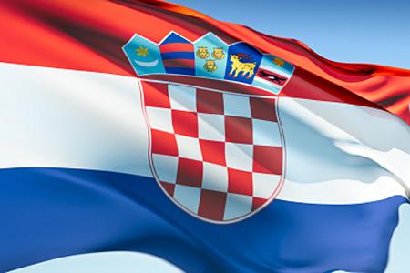 Zastava Republike Hrvatske // Ilustracija