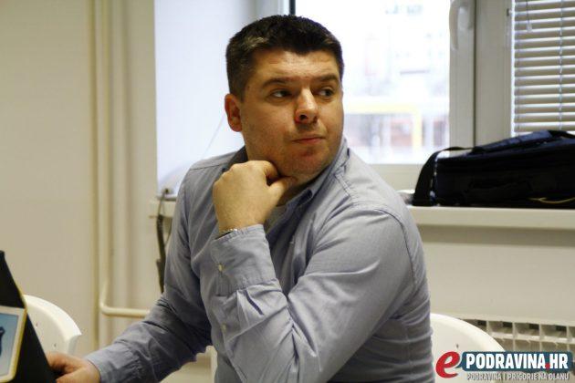 Zoran Pintarić (UMN Koprivnica) // Foto: Zvonimir Markač