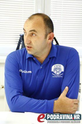 Sergej Milivojević, predsjednik UMN-a Koprivnica // Foto: Zvonimir Markač