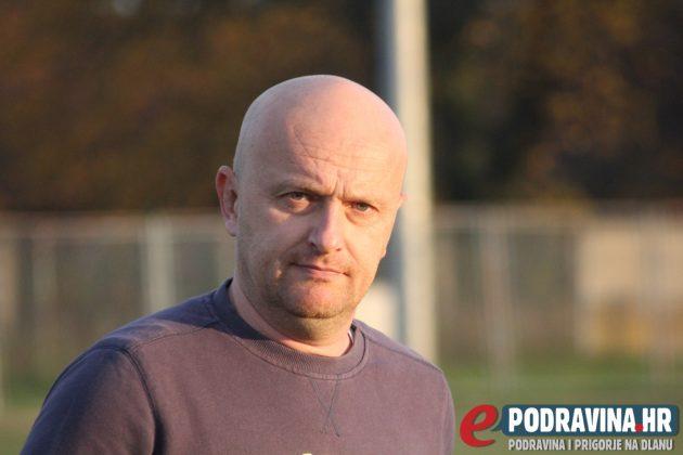 Trener Mladosti iz Sigeca Valentin Knapić // Foto: Zvonimir Markač