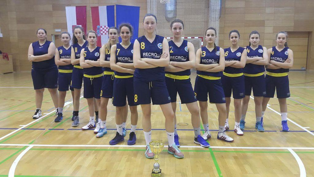 Košarkašice Koprivnice // Foto: ŽKK Koprivnica