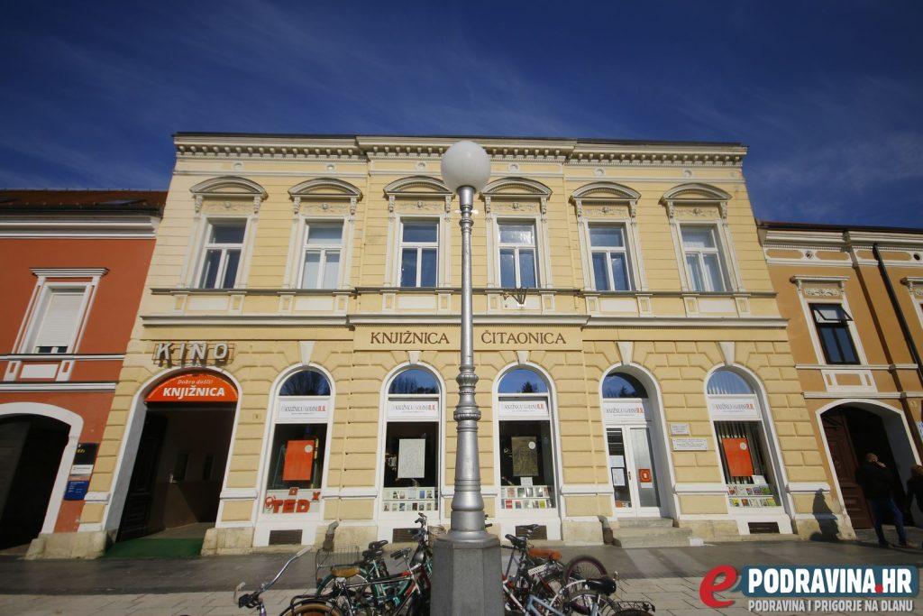 Koprivnička knjižnica i čitaonica Fran Galović // Foto: Matija Gudlin