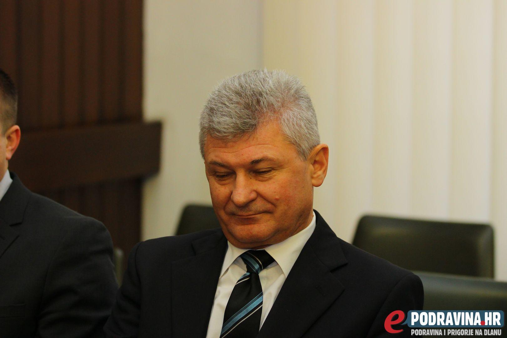 Branko Hrg, križevački gradonačelnik // Foto: Matija Gudlin