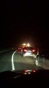 Prometna nesreća // Snimio čitatelj iz kolone