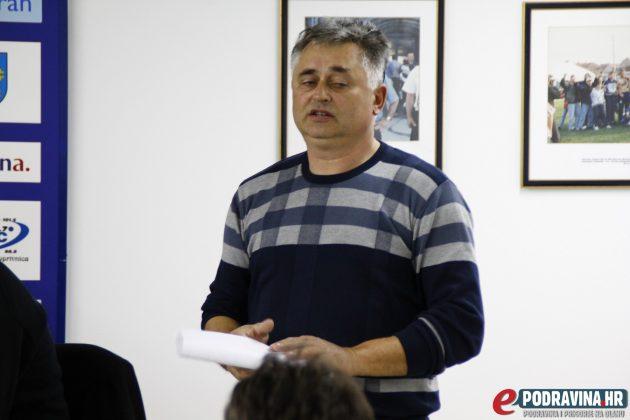 Predsjednik NK Romantičara Alojz Balog // Foto: Zvonimir Markač