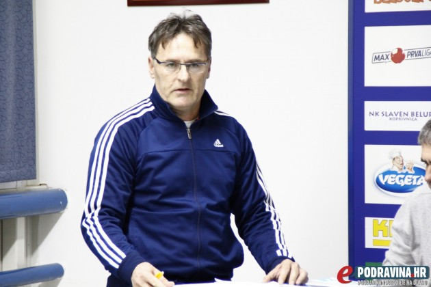 Dražen Golenja, blagajnik NK Romantičara // Foto: Zvonimir Markač