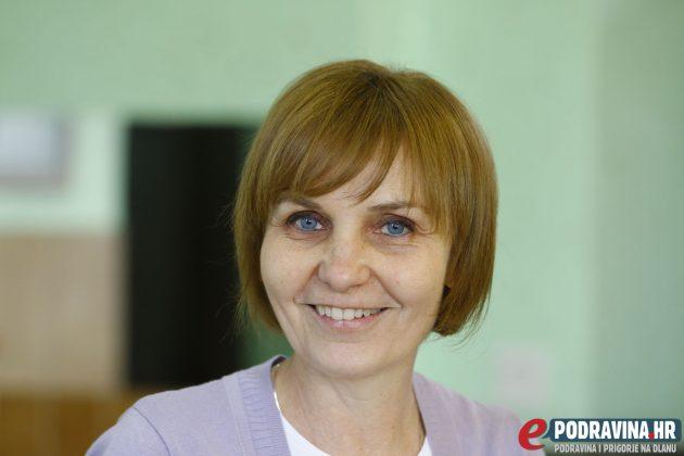 Gordana Novak, učiteljica engleskog jezika Osnovne škole Vladimira Nazora Križevci // Foto: Matija Gudlin