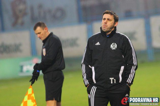 Trener Slavena Belupa Željko Kopić // Foto: Matija Gudlin