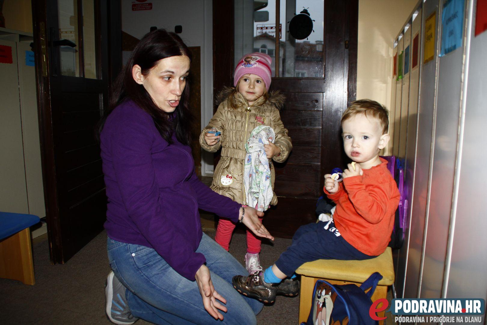 Žaklina Moslavac od siječnja će morati izdvajati 600 kuna za boravak djece u vrtiću // Foto: Marko Murković