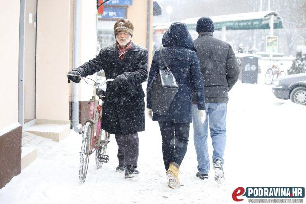 Zimski uvjeti // Foto: Matija Gudlin