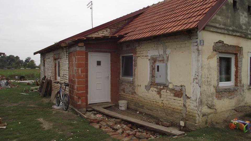 Kuća obitelji Robnik // Foto: facebook