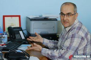 Roman Sabol, voditelj koprivničkog centra 112 // Foto: Matija Gudlin