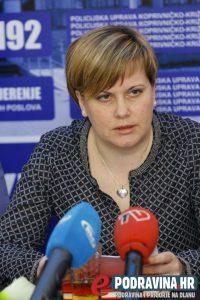 Romana Trstenjak, voditeljica Odsjeka za obradu kriminaliteta // Foto: Mario Kos
