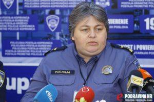 Mirela Škvorc voditeljica Odsjeka za sigurnost cestovnog prometa // Foto: Mario Kos
