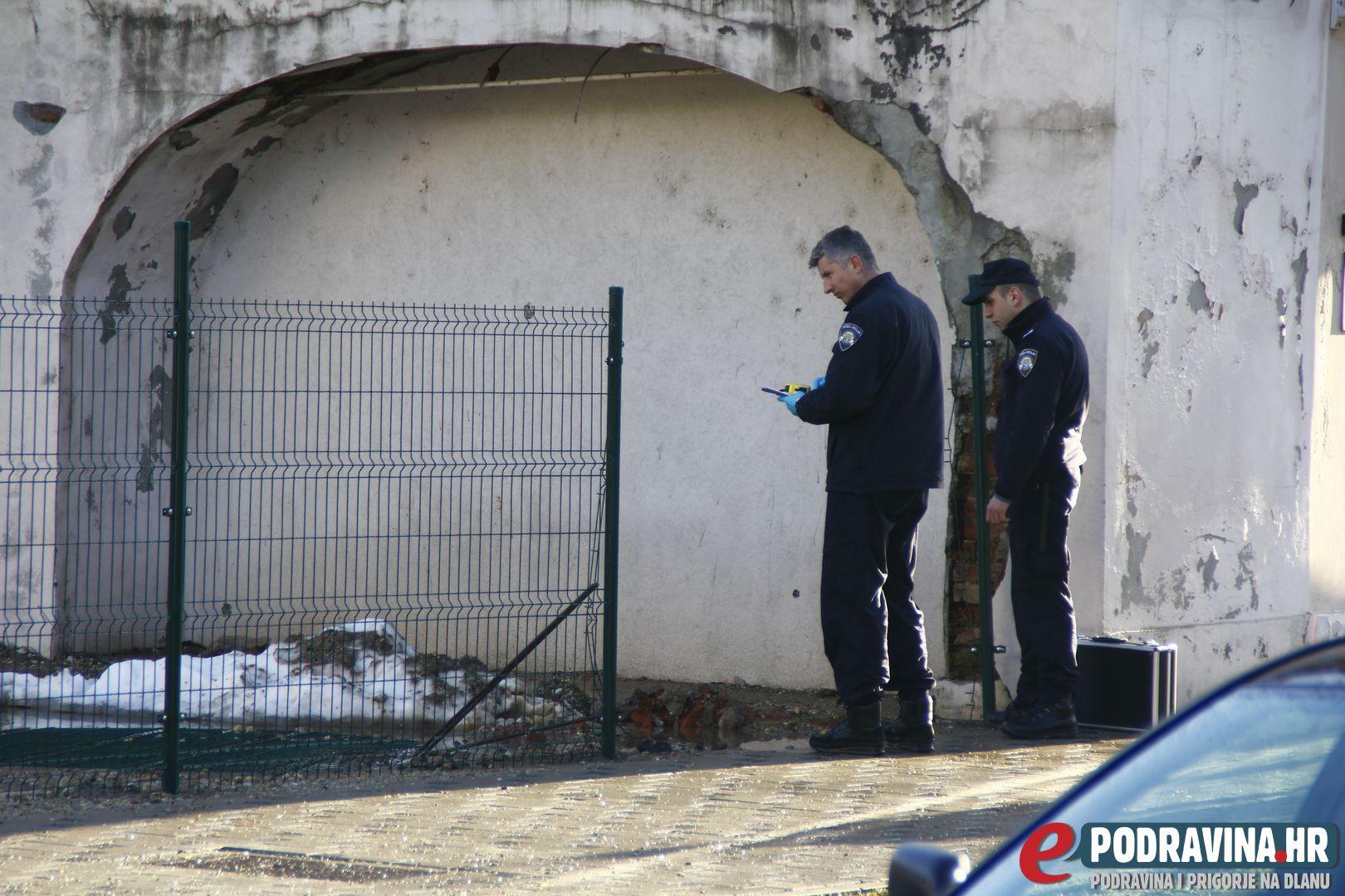 Policijski očevid kraj Martinovke // Foto: Matija Gudlin