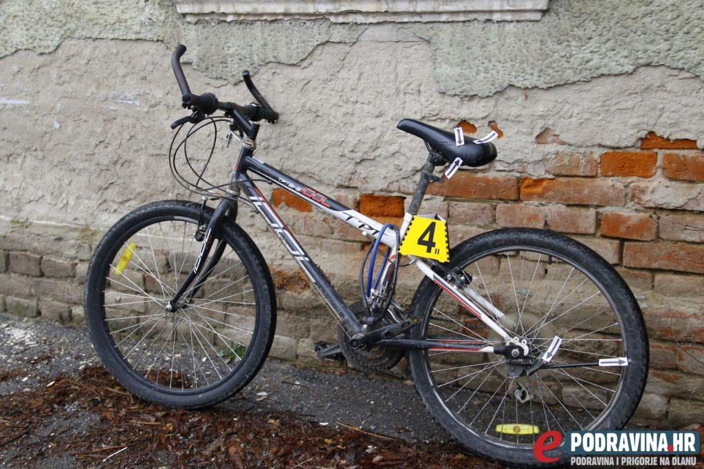 Bicikl na kojem se vozio dječak // Foto: Matija Gudlin