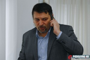 Gradonačelnik Đurđevca Željko Lacković // Foto: Matija Gudlin
