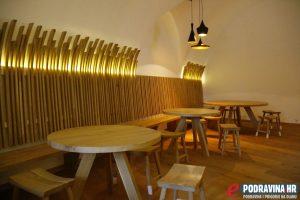 Pivnica i restoran čekaju svoje orve goste // Foto: Matija Gudlin