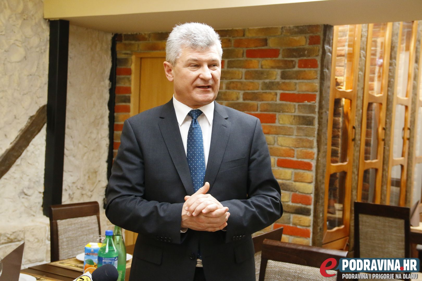 Gradonačelnik Križevaca Branko Hrg // Foto: Matija Gudlin