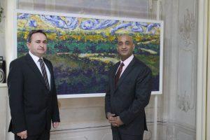 Dubravko Bilić i indijski veleposlanik Nj. E. Sandeep Kumar// Foto: Ludbreg.hr