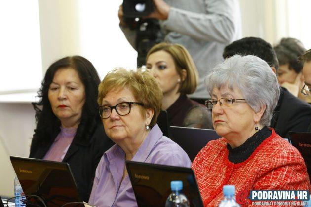 Željka Zetović i Anica Desnica, članice koprivničkog Gradskog vijeća // Foto: Matija Gudlin