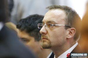 Željko Vugrinec, član koprivničkog Gradskog vijeća // Foto: Matija Gudlin