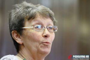 Helena Hećimović, članica koprivničkog Gradskog vijeća // Foto: Matija Gudlin
