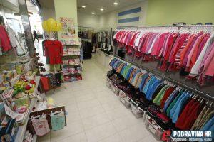 Potražite velik izbor odjeće i obuće za najmlađe // Foto: Matija Gudlin