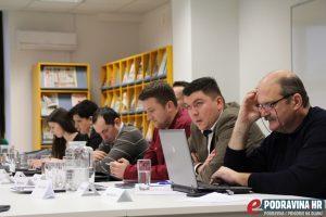 Hrvoje Parag (HDZ) i Frane Franičević (SDP) // Foto: Kristina Kos