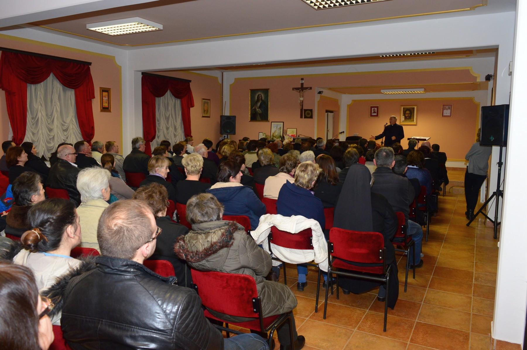 Puna dvorana u močilskoj župi // Foto: Luka Krušec (Glas Podravine)