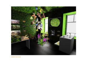 Ovako će izgledati kabinet biologije // Foto: Djurdjevac.hr