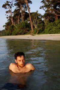 U toploj vodi