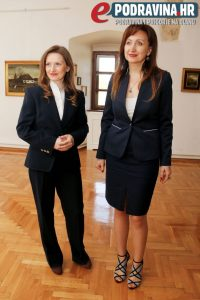 Svečani doček gostiju upriličile su Kristina Benko Markovica i Jadranka Švaco // Foto: Matija Gudlin